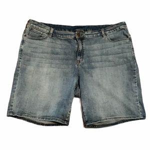 Venezia Plus Size Jean Short
